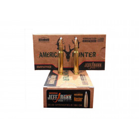 Ammo Inc American Hunter/Jeff Rand 30-06 Springfield, 180 GR AccuBond, Box of 20