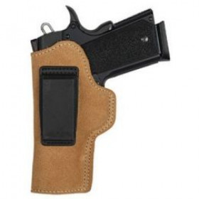 Blackhawk Suede Leather Angle Adjustable IWB Holster For Compact 1911, Left Hand