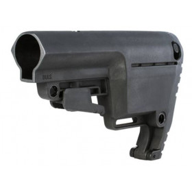 Mission First Tactical Battlelink Utility Low Profile AR-15 Stock, 6 Position Commercial Spec, Black