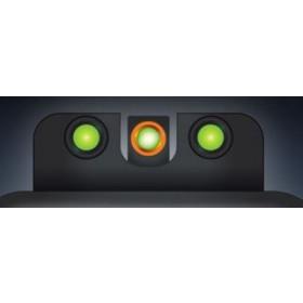 Truglo TFX Pro Tritium Fiber-Optic Day/Night Handgun Sight Fits S&W J-Frame