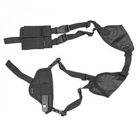 Bulldog Cases Bulldog Pro DLX Shoulder Holster For Compact Semi Auto Pistols, Ambi