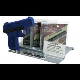 Laserlyte Stand W/ Ck-Amf9 & Blue Gun, Side Mount Laser fits Kel-Tec PF9 or Ruger LC9