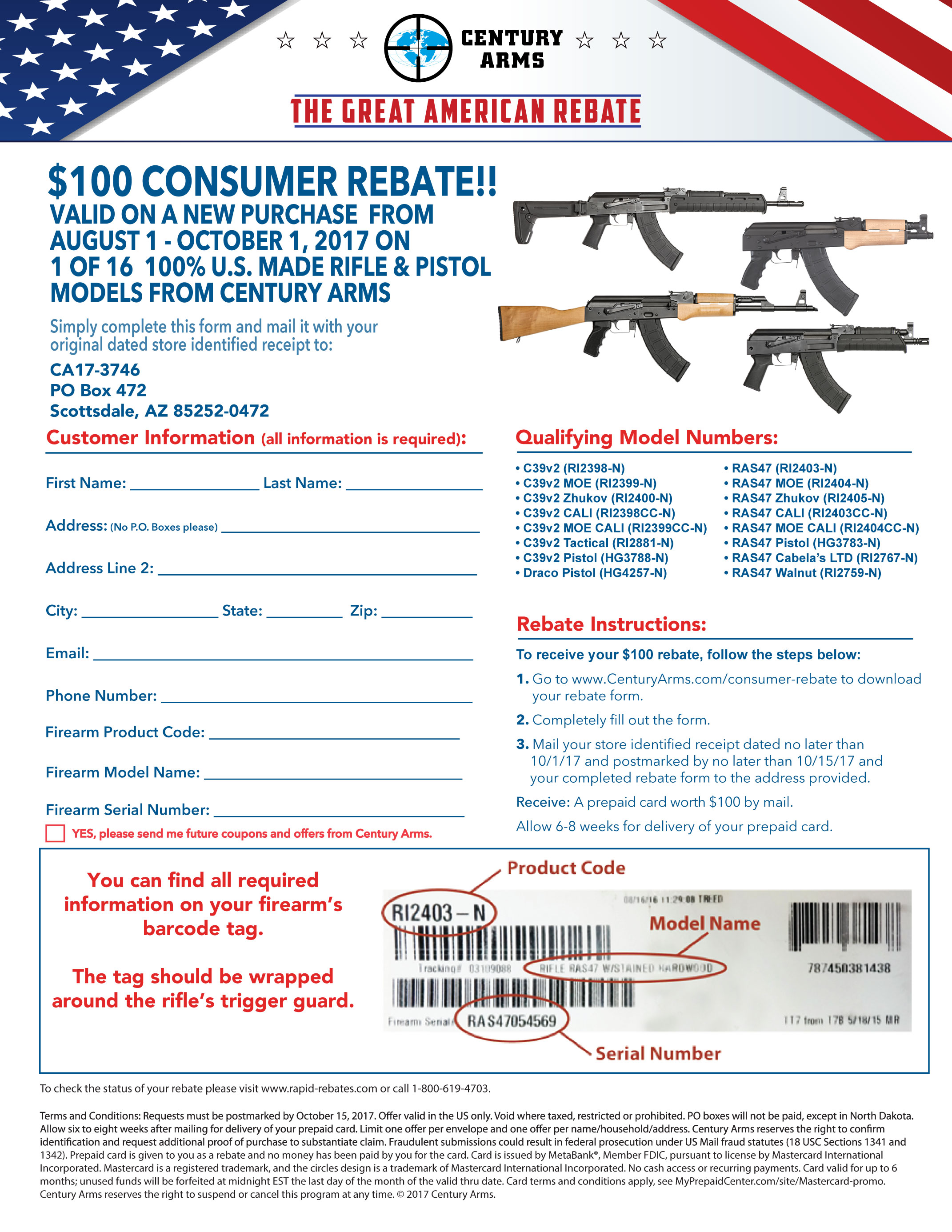 Great American Rebate   Consumer